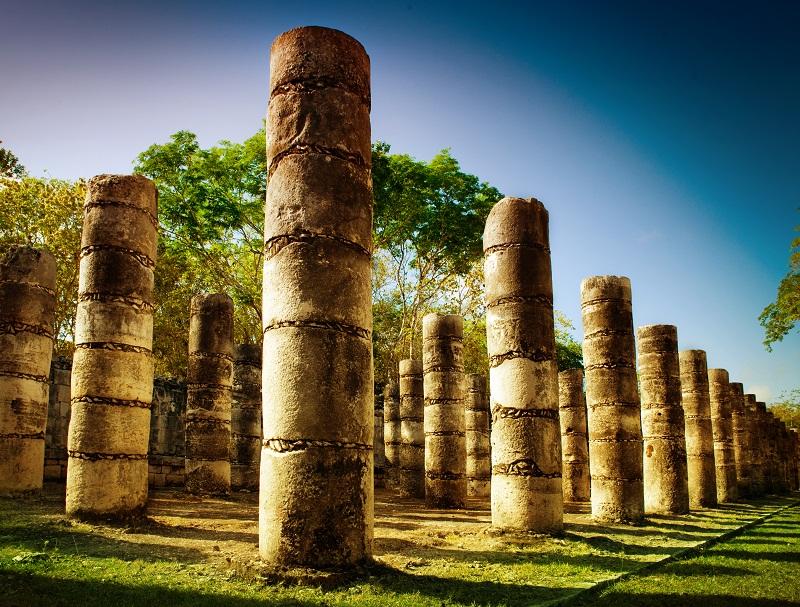 Chichen itza is also near Cancun