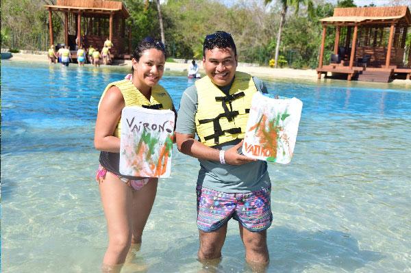 Playera autografíada Riviera Maya