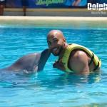 ¡Asombrosos momentos interactuando con delfines en Dolphinaris!