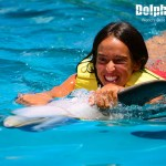 Belly Ride activity with the wonderful dolphins.