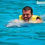 Actividad Belly Ride en nado con delfines.