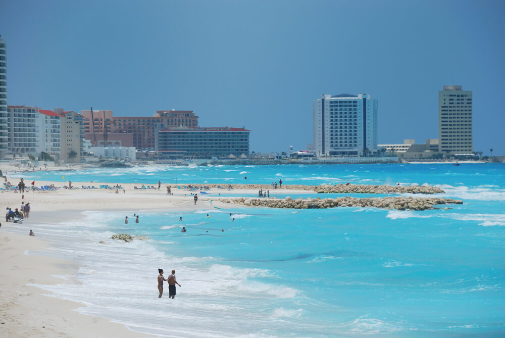 Cancun beaches are known worldwide