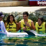 Have an amazing dolphin encounter at Dolphinaris Cozumel.