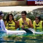 Grandiosa experiencia en el programa de entrenador de delfines.