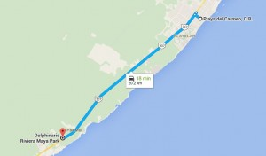 How to Get to Dolphinaris Riviera Maya GoogleMaps