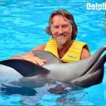 Interacción y nado con delfines en Dolphinaris.