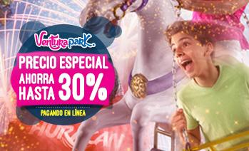 Ventura Park Cancún precio especial ahorra reservando en línea.