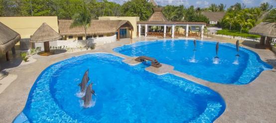 Hotel Barceló Maya Beach Resort en la Riviera Maya mexicana.
