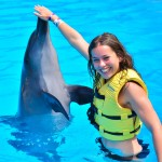 Dolphin Interactive Program at Dolphinaris