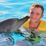 Magic moments happen with dolphins at Dolphinaris