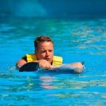 Swim with dolphins, carona na barriga!