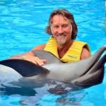 Interagir com os golfinhos