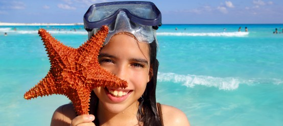 Traveling with kids to the Mexican Caribbean.