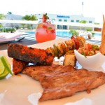 The Sundeck Lounge Dolphinaris Cancun -  Terrace restaurant.