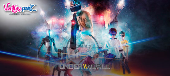 Enjoy the Underworld world, only at Ventura Park.