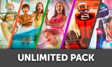 Promoción Mexicanos entrada a Ventura Park Cancún - Unlimited Pack