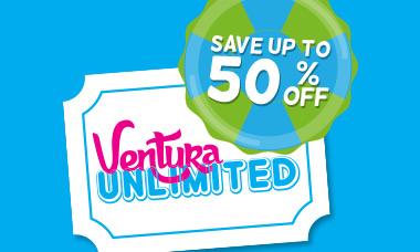 Promoción Mexicanos entrada a Ventura Park Cancún - Ventura Unlimited
