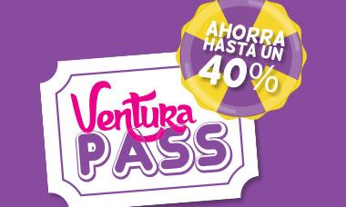 Promoción Mexicanos entrada a Ventura Park Cancún - Ventura Pass