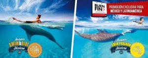Descuentos para mexicanos y Latinoamericanos nadar con delfines en Cancun y Riviera Maya
