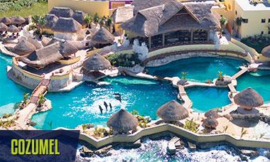 Summer break deals all swim with dolphins in Cozumel + free Wet'n Wild Cancun