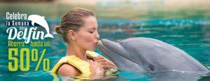Celebra la semana del delfín en Dolphianris Cancún y Riviera Maya