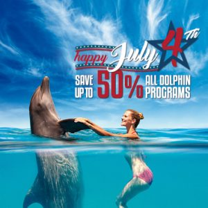 4th of July Celebration - Swim With Dolphins in Cancun, Riviera Maya, Tulum and Cozumel