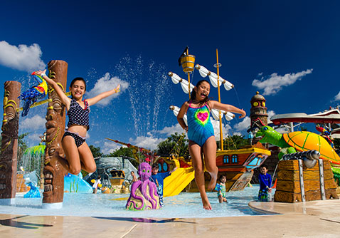 Playa Mia park in Cozumel
