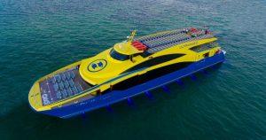 Ferry hacia Cozumel Ultramar