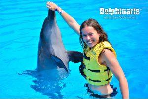 Dolphin Swim Program en Dolphinaris Riviera Maya Park