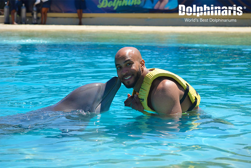 Awesome moments happen at Dolphinaris!