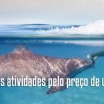 Aventura Tripla programa nado golfinhos em Riviera Maya Mexico.