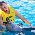 Interacting with dolphins is a lifetime experience!