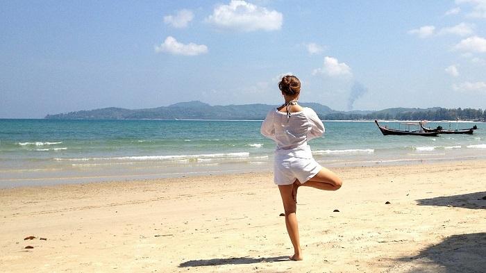 Yoga in Tulum beaches