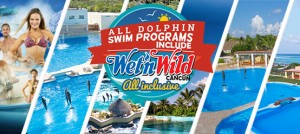 all swim with dolphins in Tulum + free Wet'n Wild Cancun