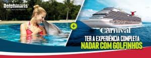 Cozumel Carnival Cruise line - Nadar com golfinhos Cozumel