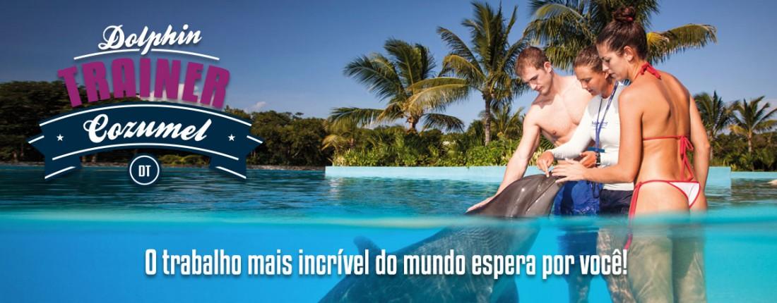 Treinador Golfinhos em Cozumel