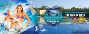 Reserva agora qualquer Programa de Nado com Golfinhos em Riviera Maya e recebe Wet'n Wild Cancún gratis.