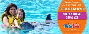 Nada con delfines con este super descuento por el día de la madre.