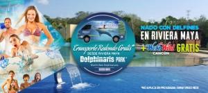 Nadar con delfines en Riviera Maya o playa del carmen con Wet'n Wild Cancun