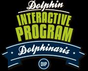 Programa interativo com golfinho.
