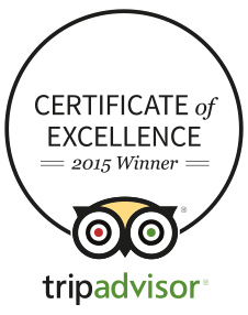 Selvatica excellence certificate TripAdvisor 2015