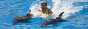 Dolphinaris Cancun Dolphin Swim Ride
