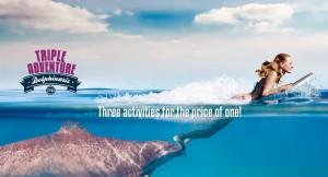 Swim with dolphins - Triple Adventure