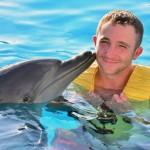 Experiência de nado com golfinhos