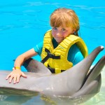 Grandes sonrisas con delfines en Dolphinaris