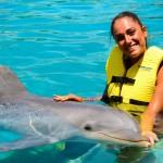 Nado com golfinhos em Cozumel