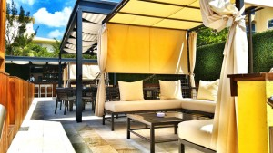 The Sundeck Lounge Dolphinaris Cozumel - Bar premium drinks
