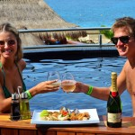 The Sundeck Lounge Dolphinaris Cozumel  - Restaurant gastronomic experience.