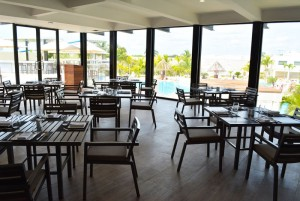 The Sundeck Lounge Dolphinaris Cancun - Restaurant a gastronomic experience.