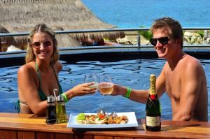 The Sundeck Lounge Dolphinaris Cozumel - Restaurante experiencia gastronomica